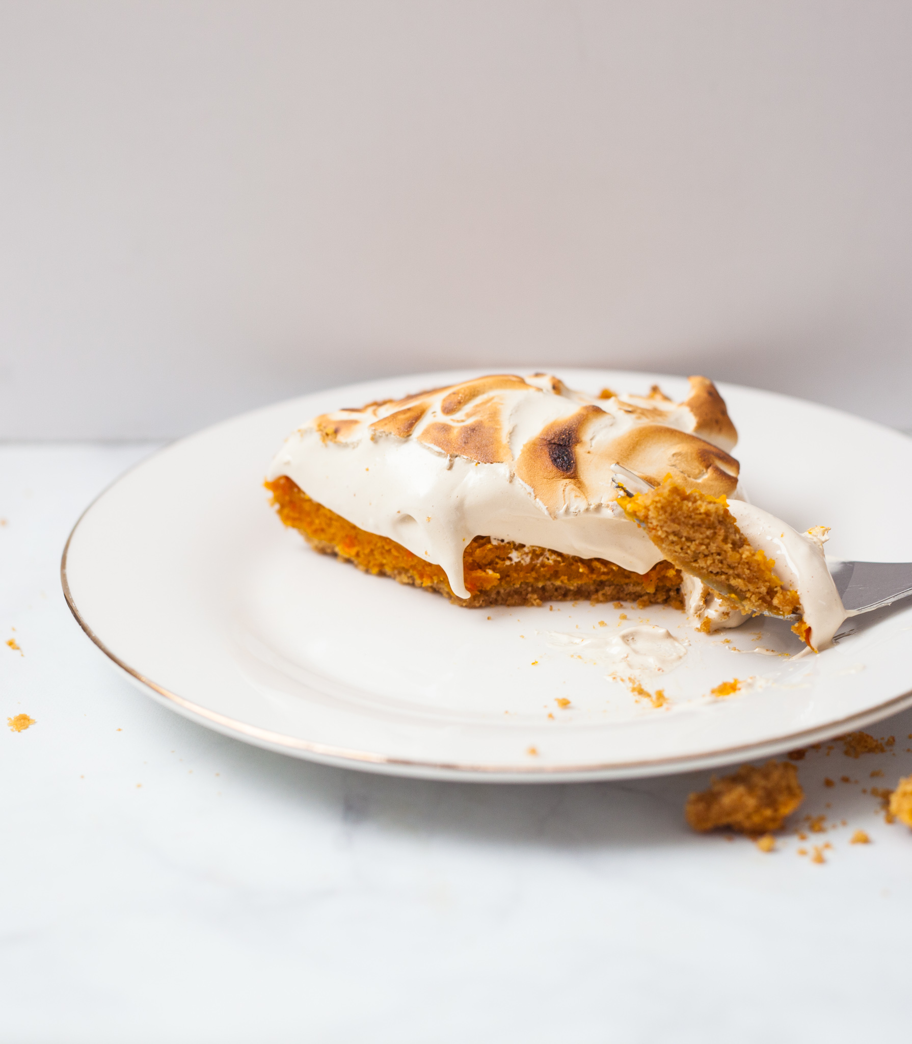 Carrot Espresso Tart Recipe